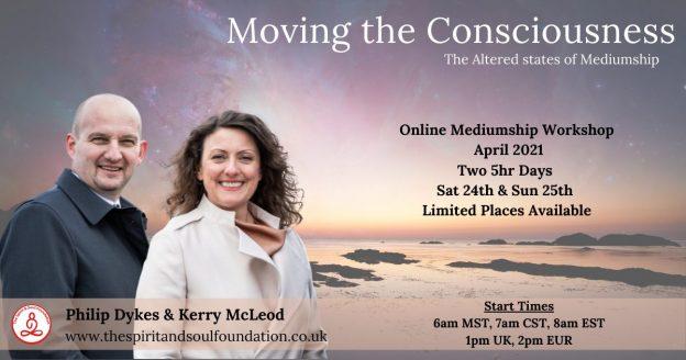moving the consciousness